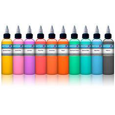 10 Pastel Color Set - 10 пастельных тонов