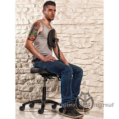 Мебель для тату салона Профессиональный стул - черный