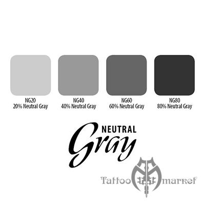 Neutral Gray Ink Set 4