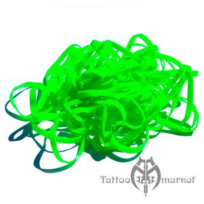 Бандажные резинки для штанги Бандажные UNISTAR зеленые