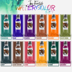 Jay Freestyle Watercolor Ink Set 12шт