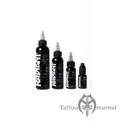 Radiant tribal black radiant for Waverly tattoo ink