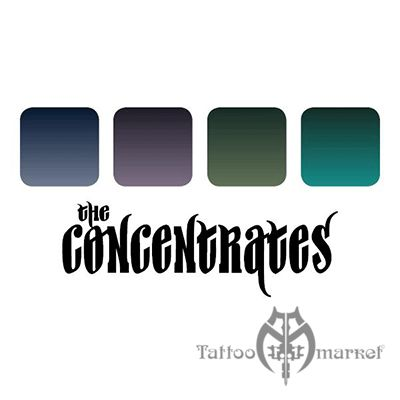 The Concentrates Four Color Ink Set 4