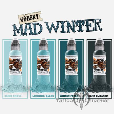 Damian Gorski Mad Winter Set 4шт