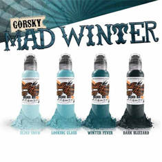 Damian Gorski Mad Winter Set 4шт