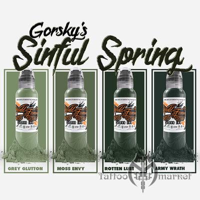 Damian Gorski Sinful Spring Set 4шт