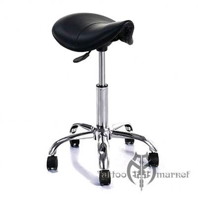 Мебель для тату салона Черный табурет-седло