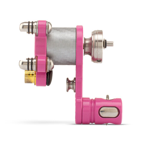 "Bright Pink Aluminum ""Z"" Rotary - One-off"