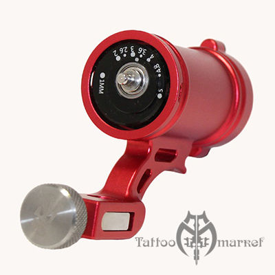 Тату машина Right Stuff Rotary KEG – Rotary tattoo machine Variable (Red)