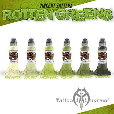 Rotten Greens Vincent Zattera Set - 6шт
