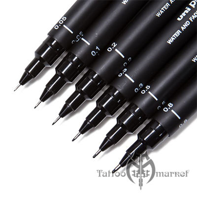 Artist Black Drawing Pens - 6шт