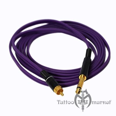 CAM Tattoo Clip-Cord Purple RCA