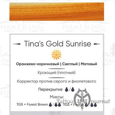 Tina's Gold Sunrise