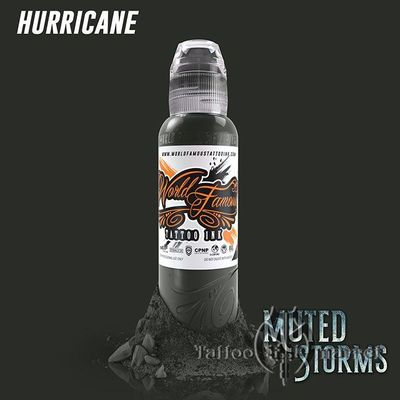 Краска World Famous Tattoo Ink POCH MUTED STORMS HURRICANE
