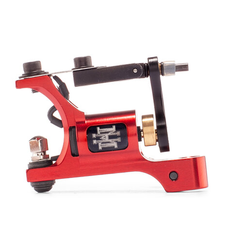 Тату машинка HM Tattoo Machines MINI EVOLUTION ROTARY FINE LINE RED CCORD