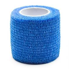 Medical Cohesive Wrap Blue