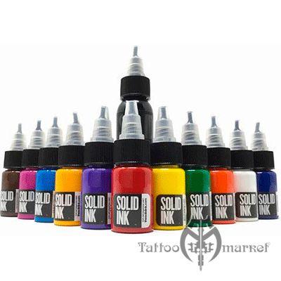 1/2oz 11 Colors + 1oz Black Mini Travel Set