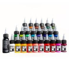 25 Colors Travel Set ( 24 colors + 1oz Lining Black )