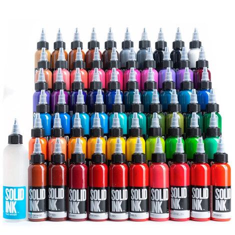 Краска Solid Ink 60 Colors Mega Set