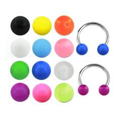 Циркуляр с акриловыми одноцветными шариками
