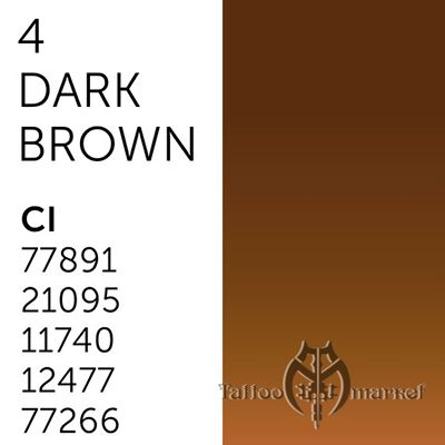 Tina Davies 'I Love INK' 4 Dark Brown