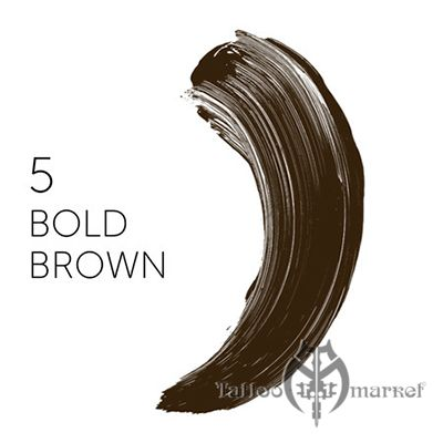 Tina Davies 'I Love INK' 5 Bold Brown