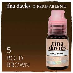 Tina Davies 'I Love INK' 5 Bold Brown