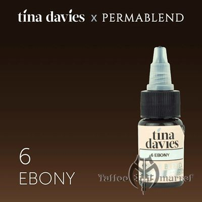 Tina Davies 'I Love INK' 6 Ebony