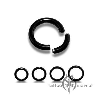 Кольцо сегментное (черная линия), диаметр 13мм, толщина 3мм