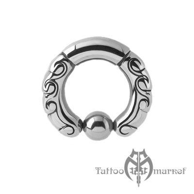 Кольцо фигурное №1, диаметр 11мм, толщина 3мм