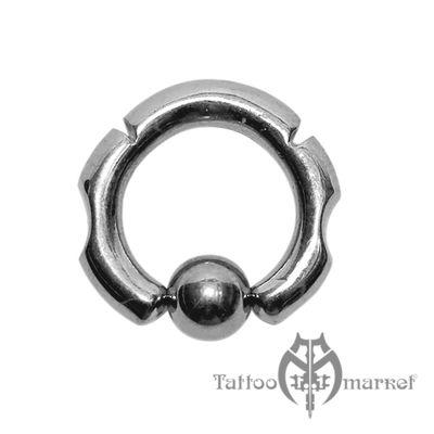 Кольцо фигурное №3, диаметр 12мм, толщина 3мм