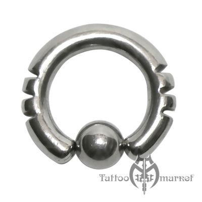 Кольцо фигурное №6, диаметр 12мм, толщина 3мм