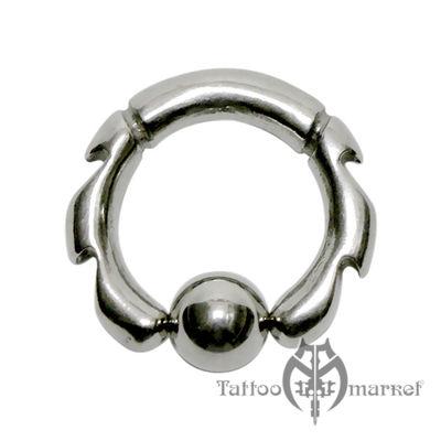Кольцо фигурное №7, диаметр 12мм, толщина 3мм