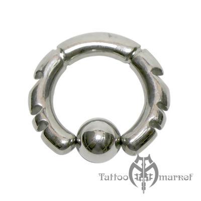 Кольцо фигурное №8, диаметр 12мм, толщина 3мм