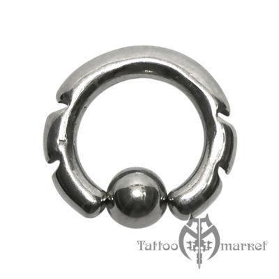 Кольцо фигурное №9, диаметр 12мм, толщина 3мм