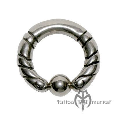 Кольцо фигурное №12, диаметр 14мм, толщина 4мм
