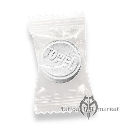 Tattooing Towel - полотенца в таблетках 50 шт