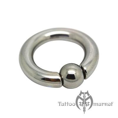 Кольцо с шариком №2, толщина 5 мм, шарик 8 мм