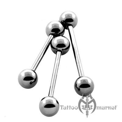 Штанга с шариками, толщина штанги 1,6мм, шарики 5мм