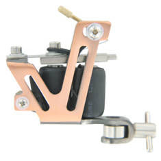 TATWAX Tattoo Machine Brass V