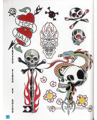Tattoo Flash by Guido