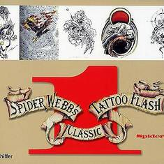 Spider Webb's Classic Tattoo Flash Vol. 1-2 - 2 книги