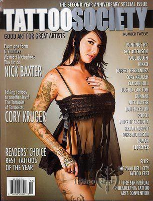 Журнал Tattoo Society №12