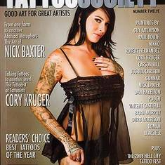 Журнал Tattoo Society №12
