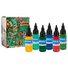 Intenze Japaneze Dragon Color Kit - 6 1oz Bottles
