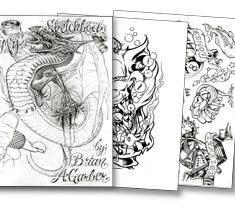 My Sketchbook - By Brian Garber