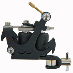 TATWAX Tattoo Machine Black Anchor
