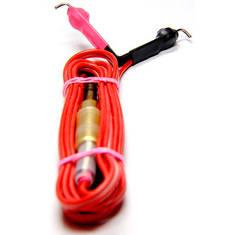 Red Silicone Clipcord-красный силиконовый клип-корд