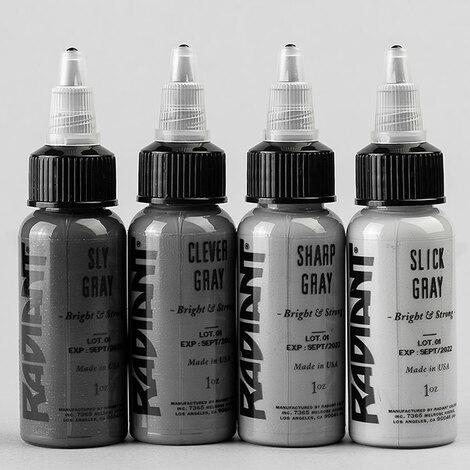 Краска Radiant Colors 4 Gray Set