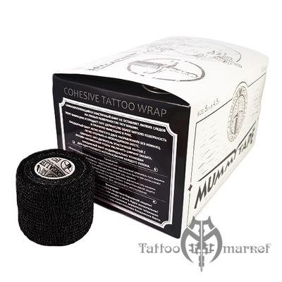 Средства ухода за татуировкой Tattoo Wrap Black Mummy Tape